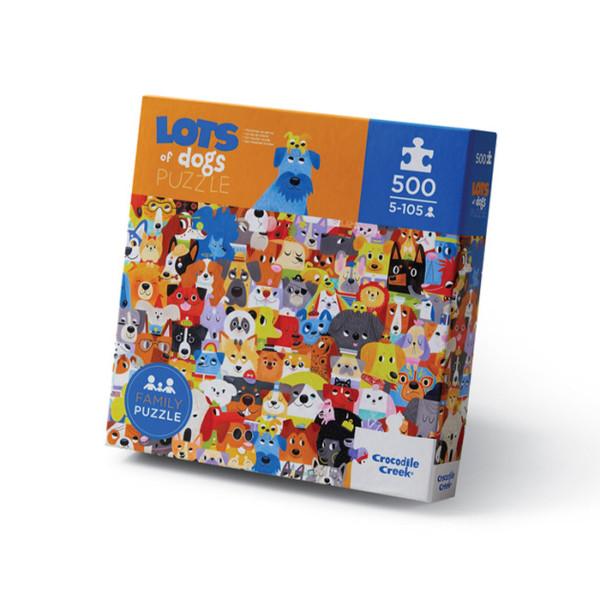 500 PIEZAS PUZZLE/ MUCHOS PERROS