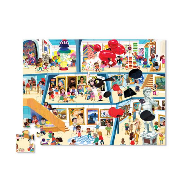 48 PIEZAS PUZZLE / UN DIA EN EL MUSEO DE ARTE