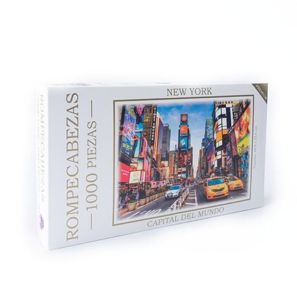 ROMPECABEZAS CIUDADES DEL MUNDO NEW YORK 1000 PC