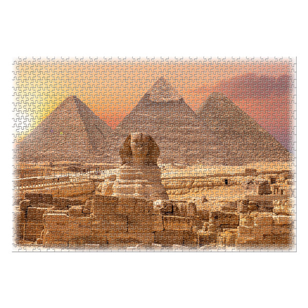 ROMPECABEZAS MARAVILLAS DEL MUNDO PIRAMIDES DE EGIPTO 1000 PC