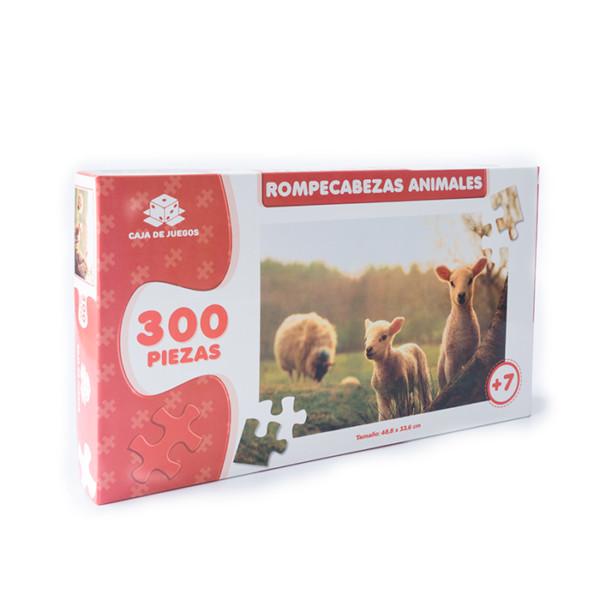 ROMPECABEZAS COLECCION ANIMALES OVEJAS 300 PC