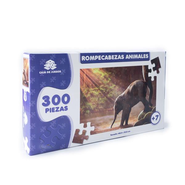 ROMPECABEZAS COLECCION ANIMALES ELEFANTES 300 PC