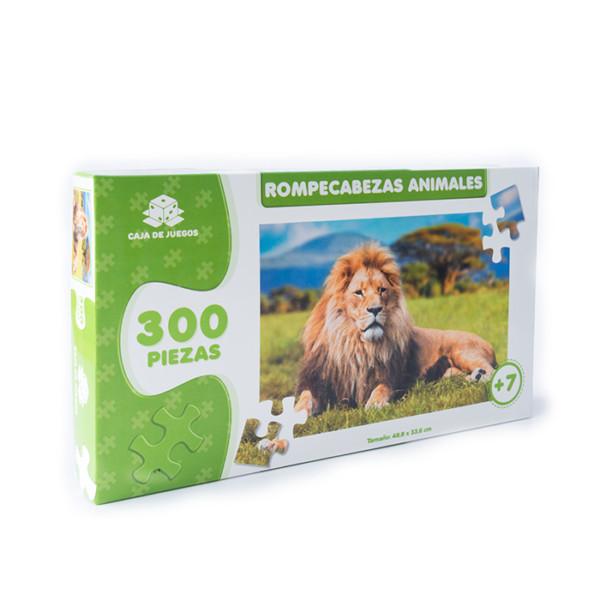 ROMPECABEZAS COLECCION ANIMALES LEON 300 PC