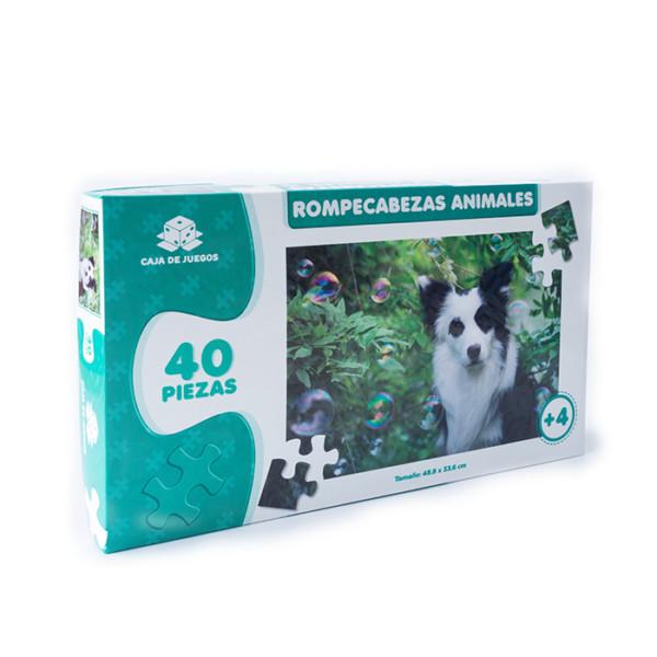 ROMPECABEZAS COLECCION ANIMALES PERRITO 40 PC
