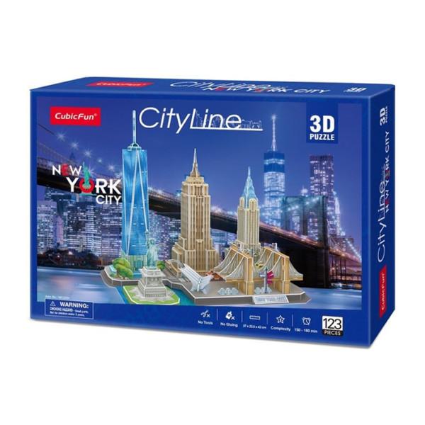 NUEVA YORK ROMPECABEZAS 3D