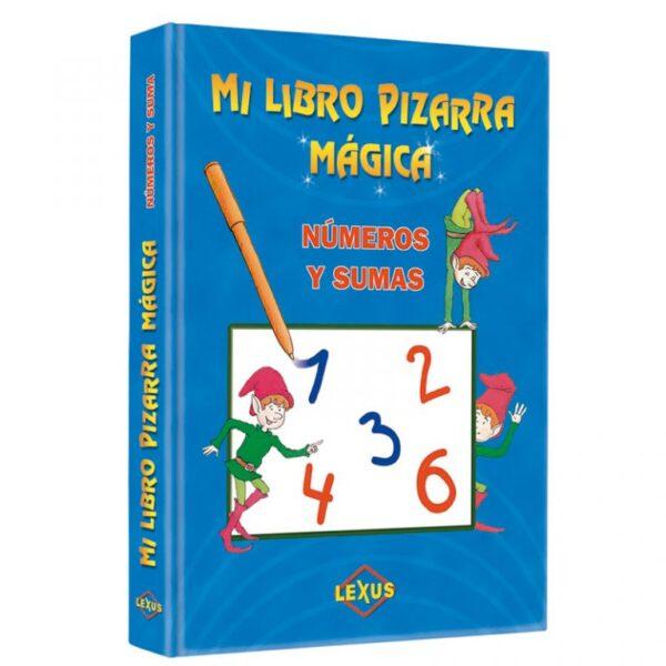 MI LIBRO PIZARRA MAGICA NUMEROS Y SUMAS