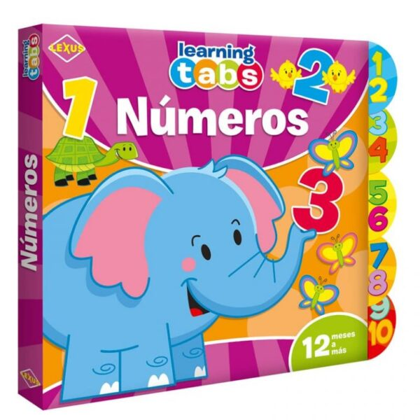 NUMEROS LEARNING TABS
