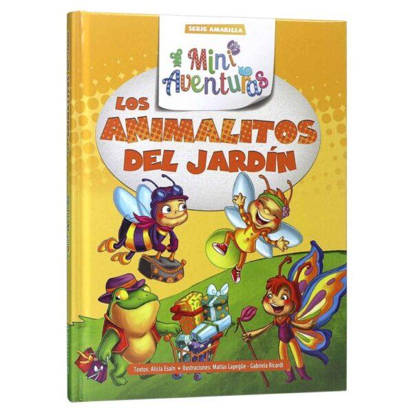 LOS ANIMALITOS DEL JARDIN-SERIE AMARILLA