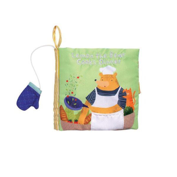LEMON THE BEAR COOKS DINNER BOOK