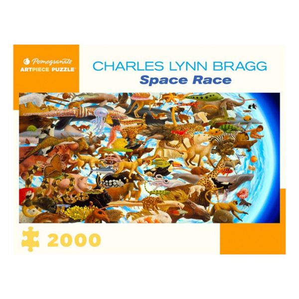 PUZZLE 2000 PIEZAS CHARLES LYNN BRAGG SPACE RACE
