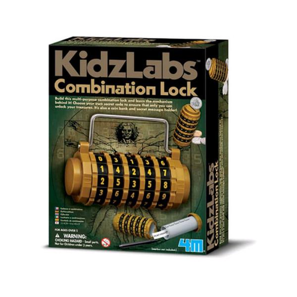 KIDZ LABS / COMBINATION LOCK 4M