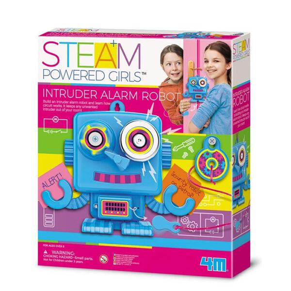 STEAM POWERED KIDS ROBOT ALARMA