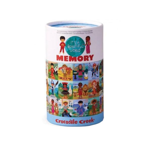 CANISTER MEMORY/BEAUTIFUL WORLD JUEGO MEMORIA