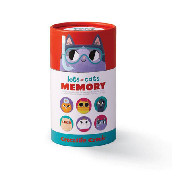 CANISTER MEMORY/LOTS OF CATS JUEGO MEMORIA