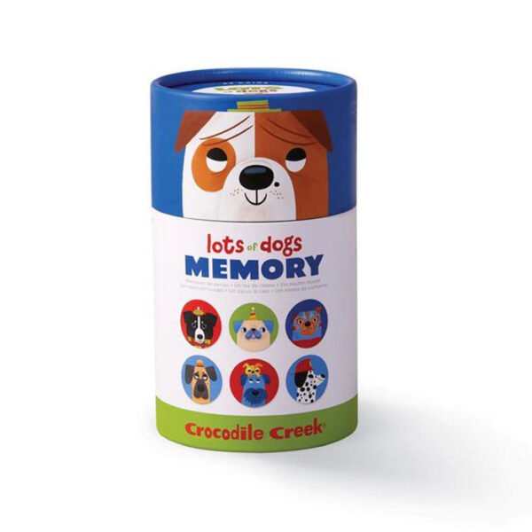 CANISTER MEMORY/LOTS OF DOGS JUEGO MEMORIA