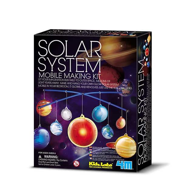 KIDZ LAB/GLOW SOLAR SYSTEM MOBILE MARKING KIT 4M