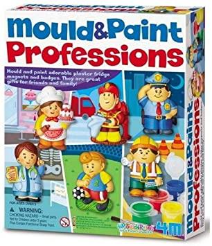 MOLDEAR Y PINTAR PROFESIONES 4M