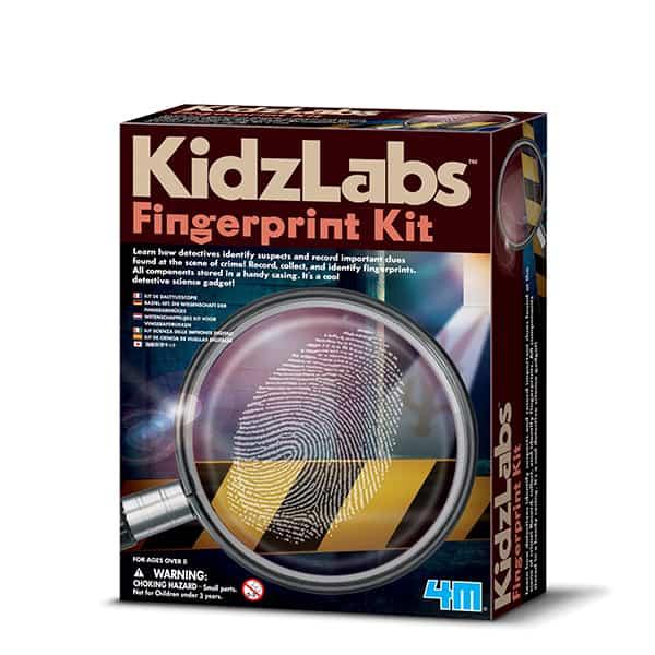 KIDZ LABS/ FINGERPRINT KIT 4M