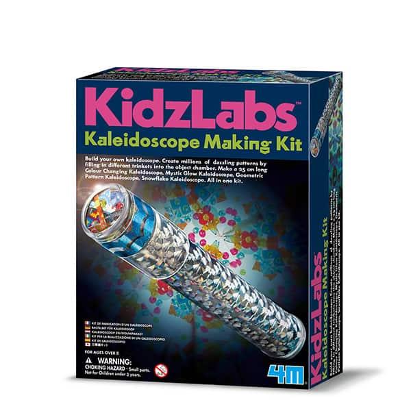 KALEIDOSCOPE MAKING KIT 4M