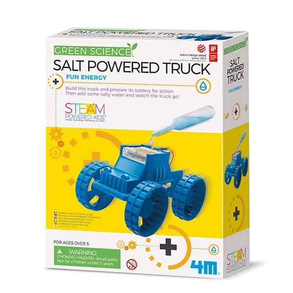 GREEN SCIENCE SALT POWERED ROBOT 4M