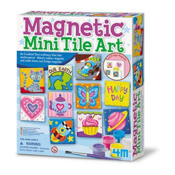 MAGNETIC TILE ART 4M