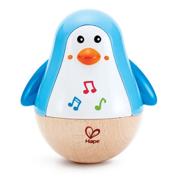 PENGUIN MUSICAL WOBBLER E0331 HAPE