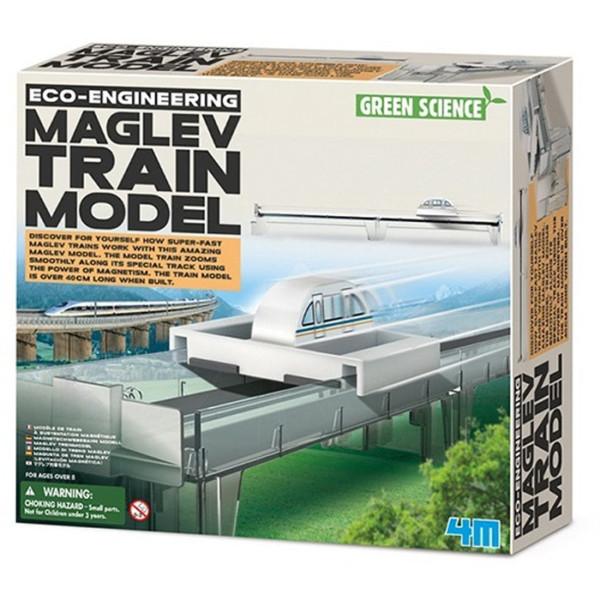 MAG LEV TRAIN MODEL EXPERIMENTO MAGNETOS 4M