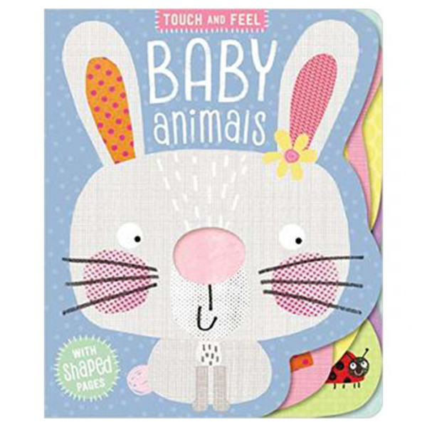 LIBRO EN INGLES BOARD BOOK TOUCH AND FEEL BABY ANIMALS