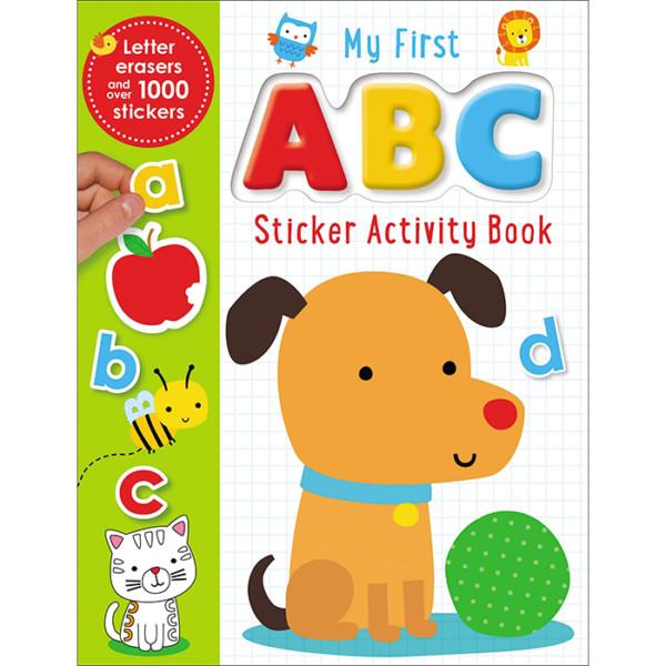 LIBRO EN INGLES STICKER BOOKS MY FIRST ABC ACTIVITY BOOK MAKE BELIEVE IDEAS