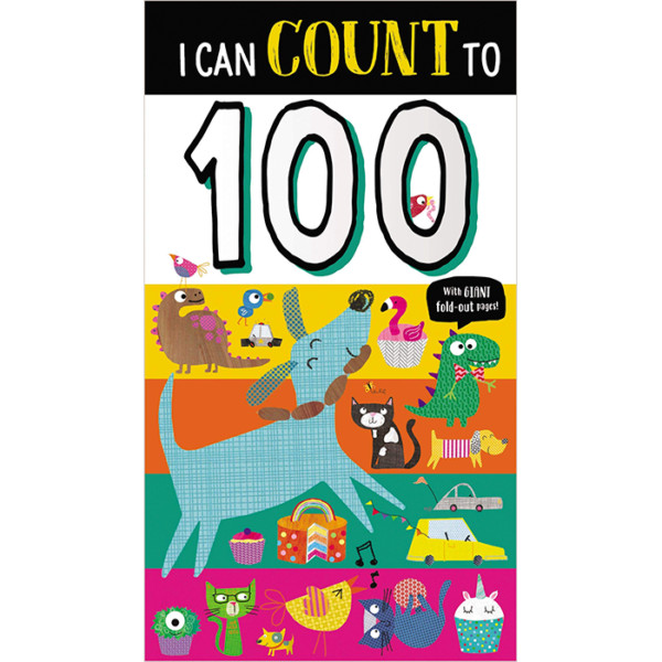 LIBRO EN INGLES BOARD BOOK I CAN COUNT TO MAKE BELIEVE IDEAS