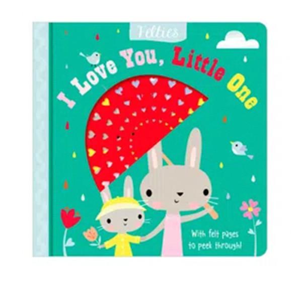 LIBRO EN INGLES BOARD BOOK I LOVE YOU, LITTLE ONE MAKE BELIEVE IDEAS