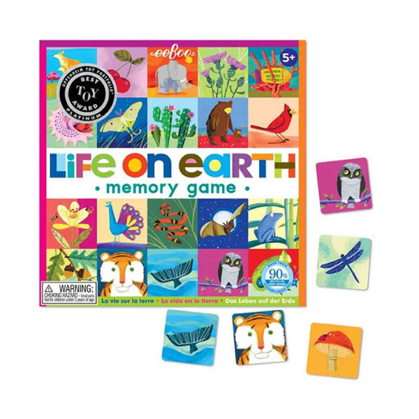 LIFE ON EARTH MATCHING GAME EEBOO