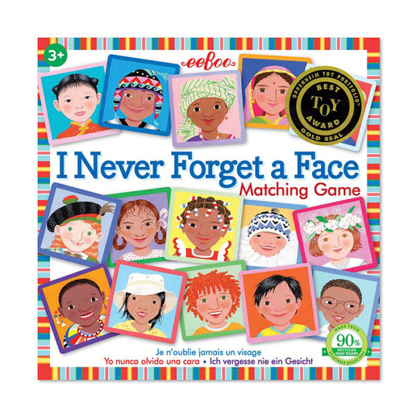 I NEVER FORGET A FACE MEMORY GAME EEBOO