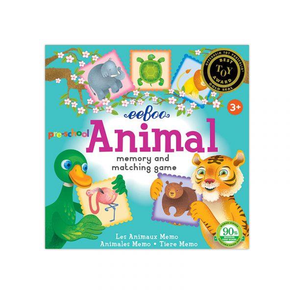 PRE-SCHOOL ANIMAL MEMORY GAME EEBOO