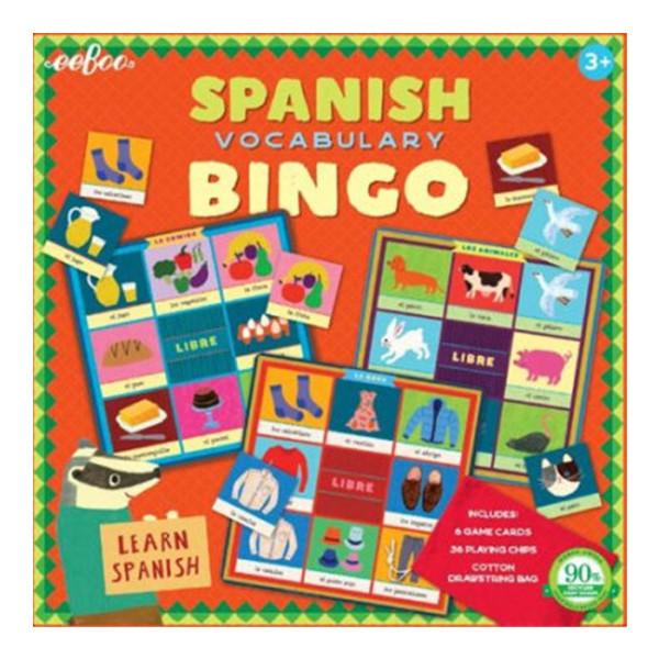 BINGO EN ESPAÑOL (2ND EDITION) EEBOO