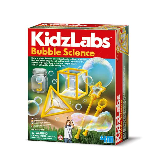 KIDZ LABS / BUBBLE SCIENCE 4M CIENCIA DE LAS BURBUJAS