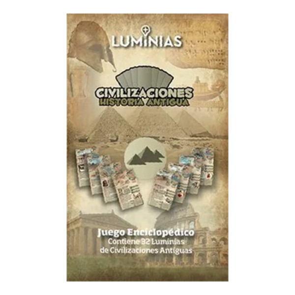 CHA CIVILIZACIONES DE LA HISTORIA ANTIGUA LUMNIAS