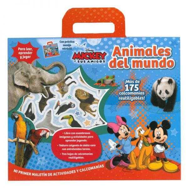 MICKEY ANIMALES DEL MUNDO ACTIVIDADES