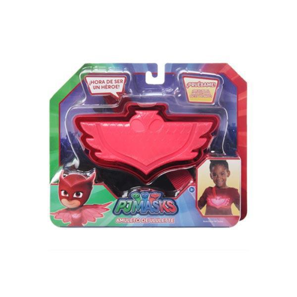 Amuleto Pjmasks Con Luces y Sonido Rojo