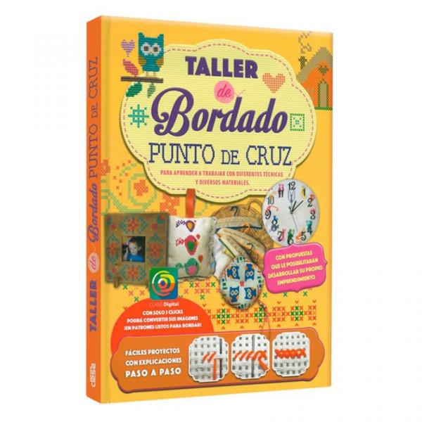 TALLER DE BORDADO PUNTO DE CRUZ (PARA APRENDER A TARBAJAR CON DIFERENTES TECNICAS Y DIVERSOS MATERIALES)
