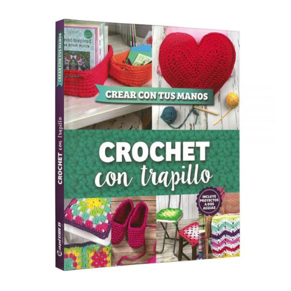 CROCHET CON TRAPILLO