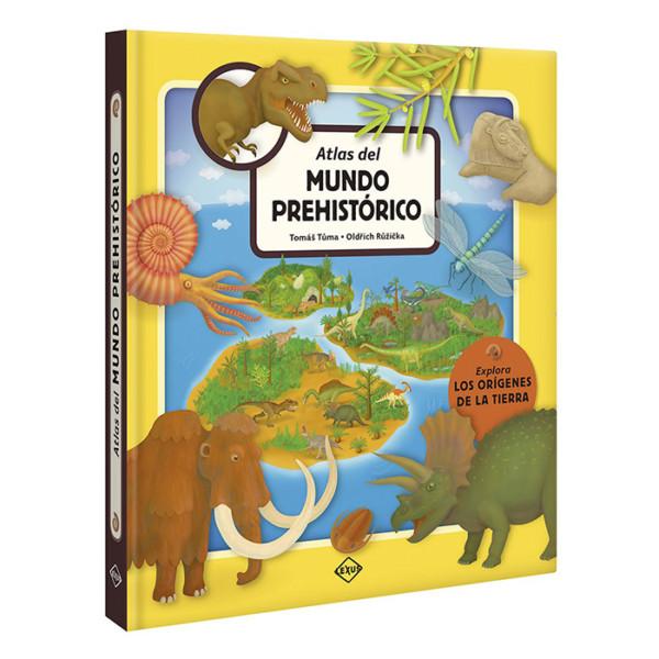 ATLAS DEL MUNDO PREHISTÓRICO (EXPLORA LOS ORÍGENES DE LA TIERRA)