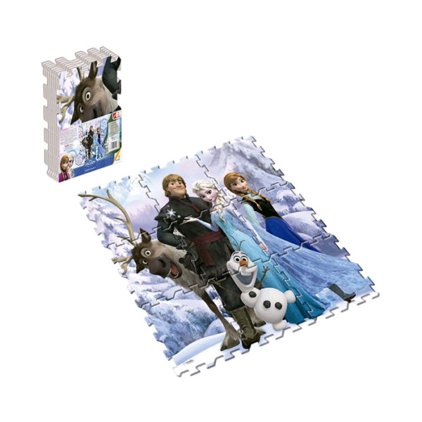 Ronda Tapete Mágico Frozen Azul