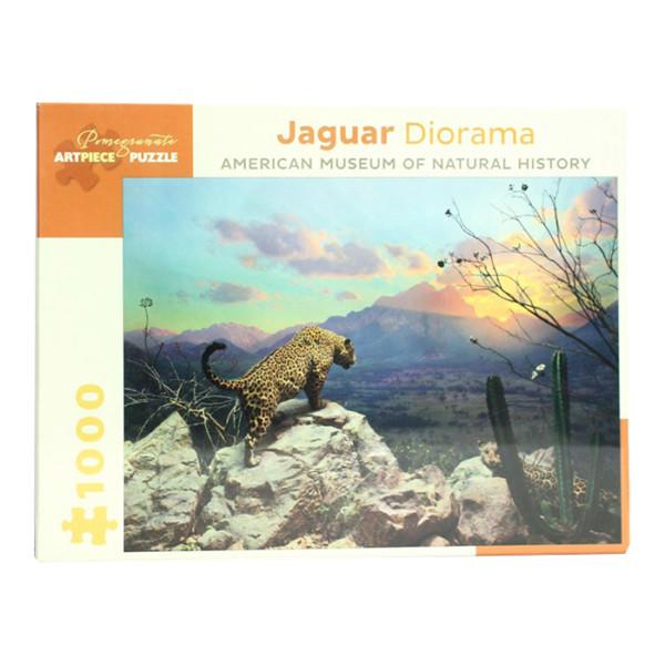 Rompecabezas Jaguar Diorama Americam Museum Of Natural