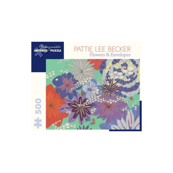 Rompecabezas 1000 Pc Pattie Lee Becker Flowers & Envelopes