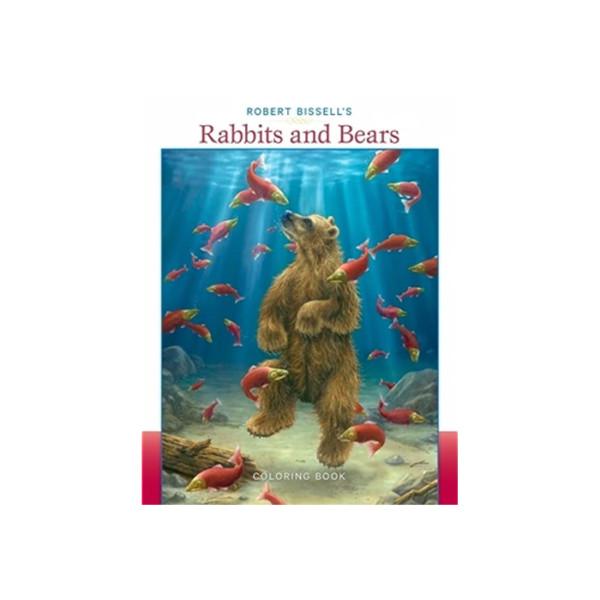 Coloring Book Rabbits And Bears