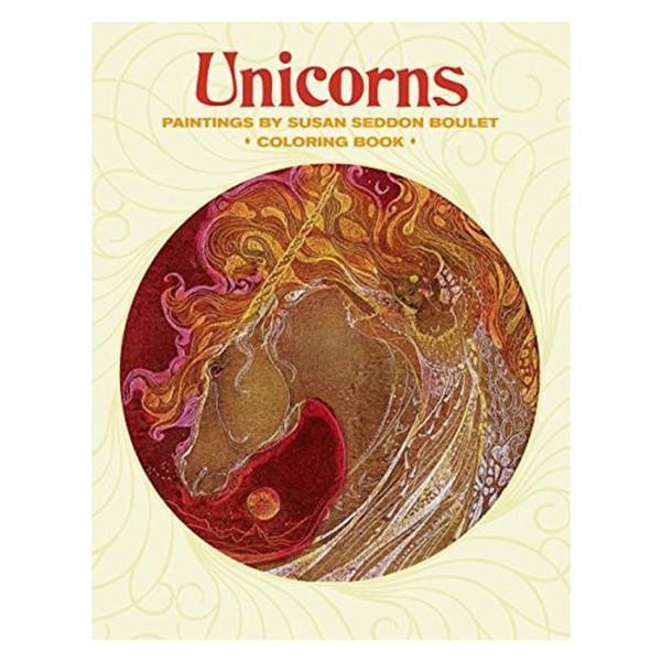 Coloring Book Unicorns Pomegranate