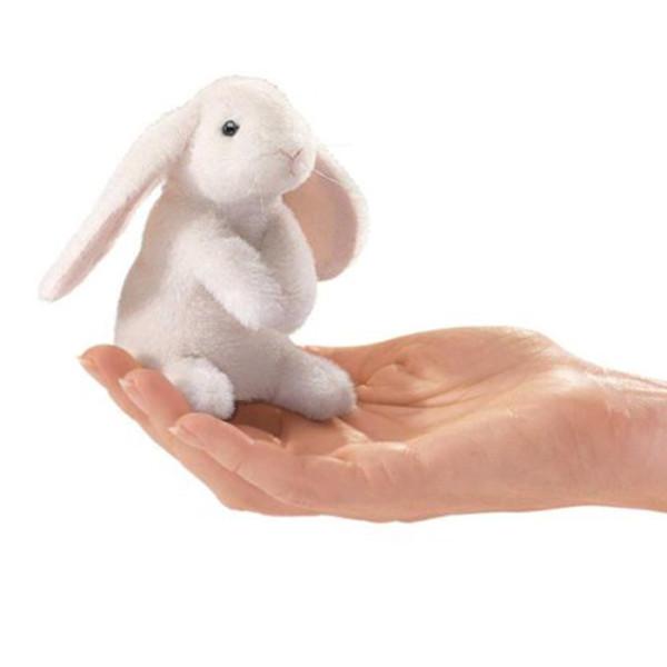 Titere Dedo Mini Lop Ear Rabbit Folkmanis