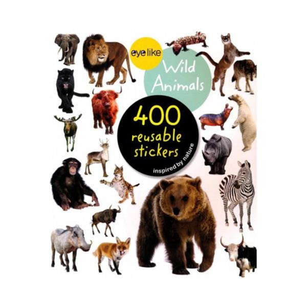 Reusable Stickers Wild Animals