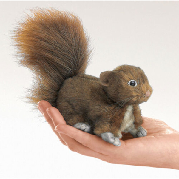 Titere Dedo Mini Rewd Squirrel Folkmanis